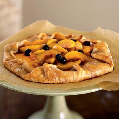 Blueberry-Peach GalettesRecipe