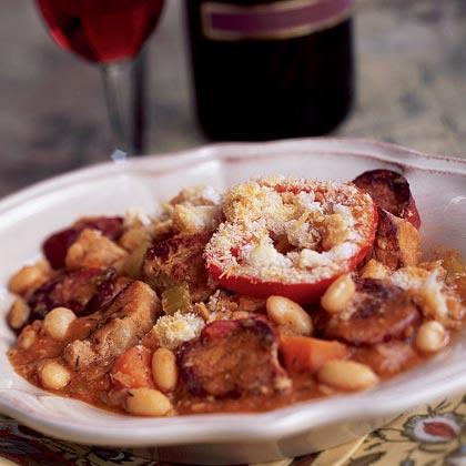 Pork Cassoulet Recipe | MyRecipes.com