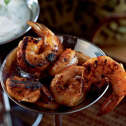 Spice-Crusted Shrimp with Remoulade Sauce