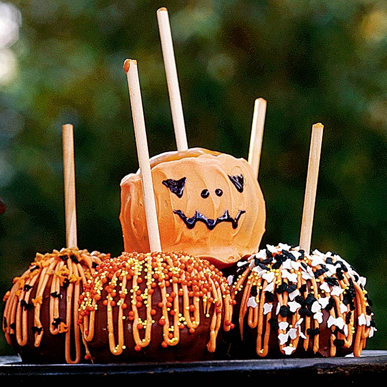 Candy apples recipe myrecipes for Caramel apple recipes for halloween