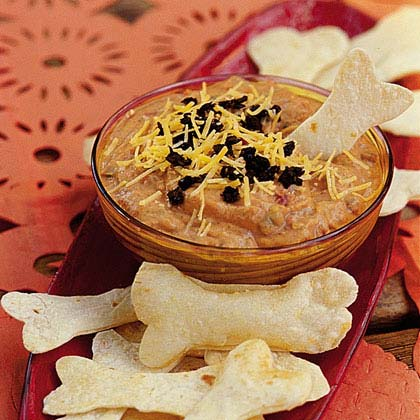 Goblin Dip with Bone Crackers Recipe
