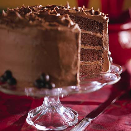 Espresso Chiffon Cake With Fudge Frosting Recipes — Dishmaps