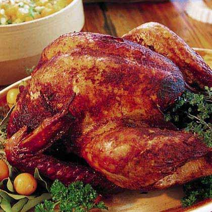 Deep fried turkey recipe myrecipes for How long to cook 11 lb turkey