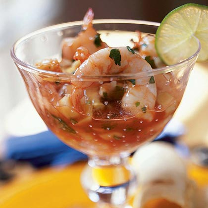 Is there a standard way to use cooked shrimp in place of raw shrimp in recipes?