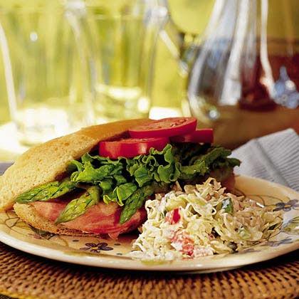 Ham-Swiss-and-Asparagus Sandwiches