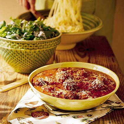 Pasta Sauce with Meatballs
