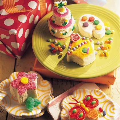 Spring's Little Cakes Recipe