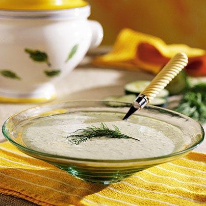 Cucumber-Dill Soup Recipe