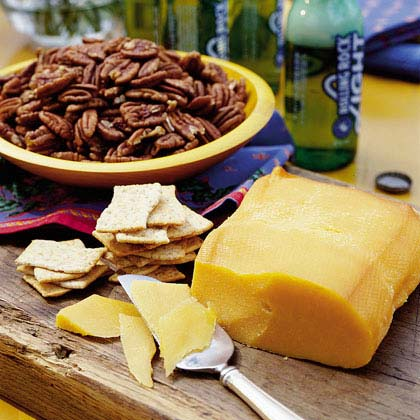 Easy Smoked Cheddar