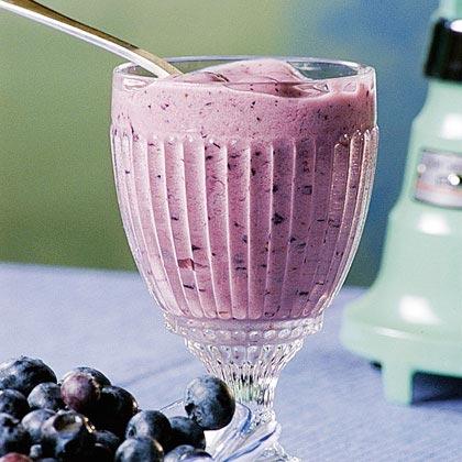 Three-Fruit Yogurt Shake