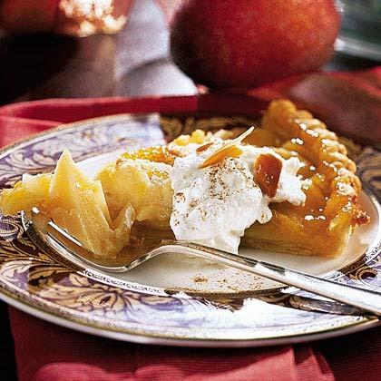 Almond-Apple Tart