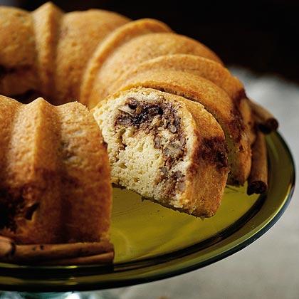 Cinnamon Swirl Buttermilk Pound Cake Recipe