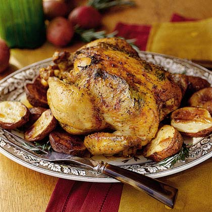 Jan's Roasted Chicken Recipe