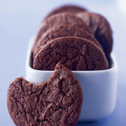 Double fudge chocolate cookies recipe