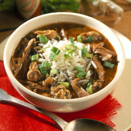 Duck and Oyster Gumbo