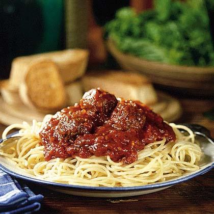 Country-Style SpaghettiRecipe