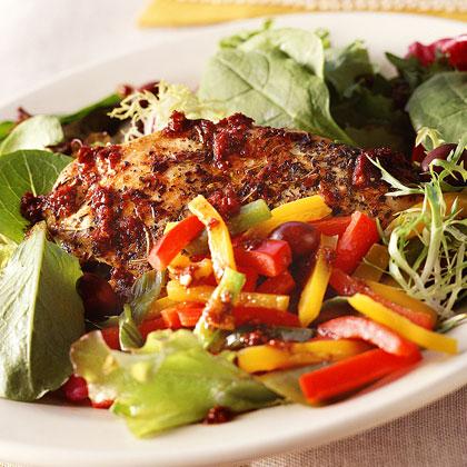 Provençale Pepper-Chicken Salad