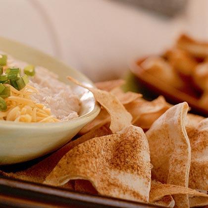 Garlic Pita Chips Recipe