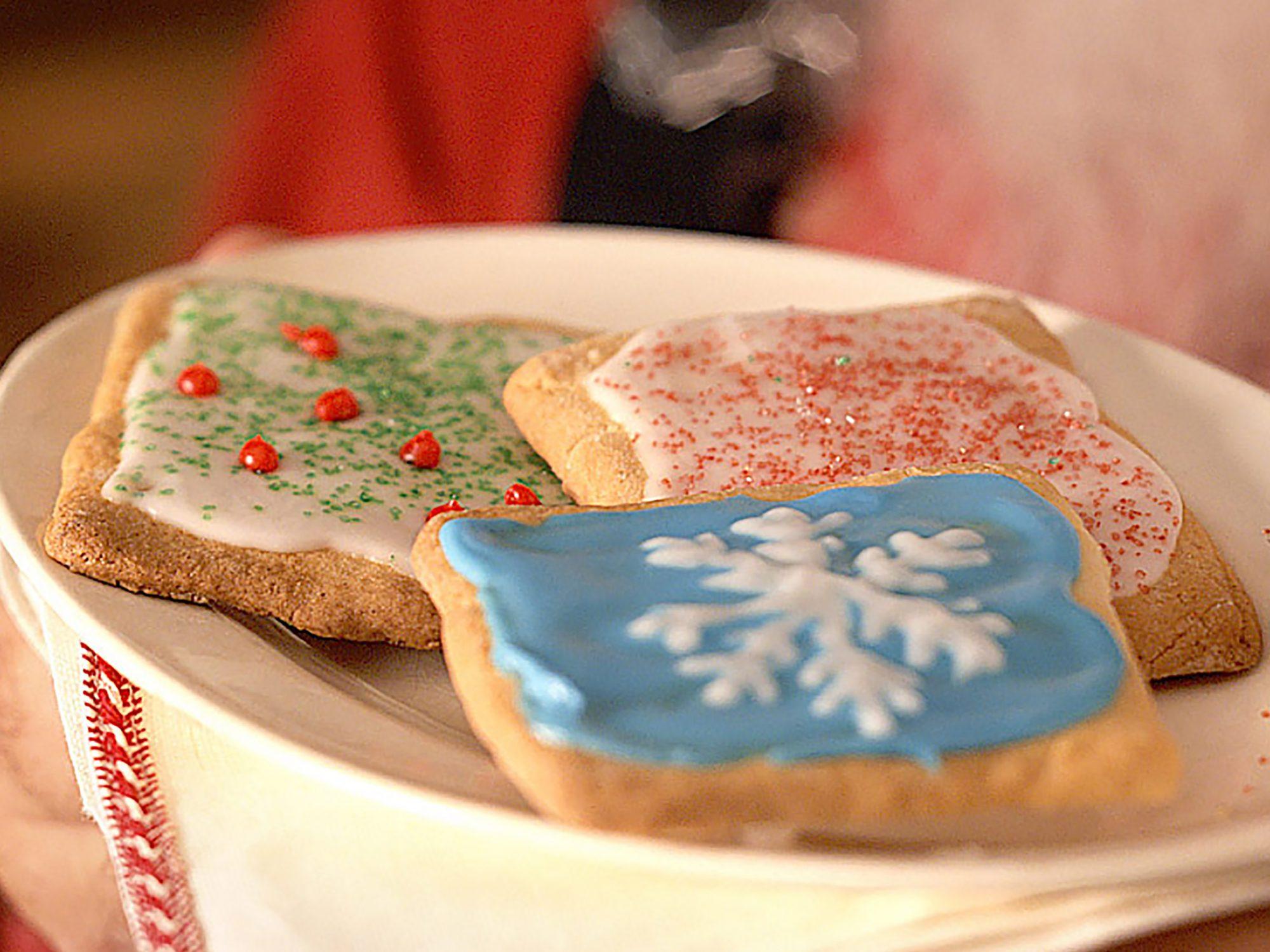 Lemon-Frosted Sugar Cookies
