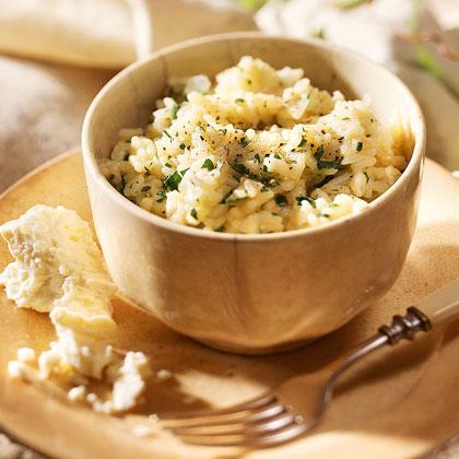 Vidalia Onion Risotto with Feta Cheese
