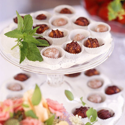 Mint-Chocolate Truffles