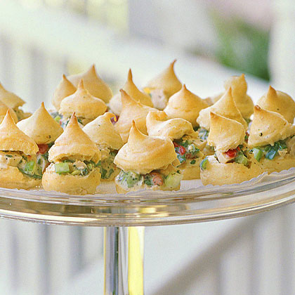 Chicken Salad Cream Puffs Recipe | MyRecipes