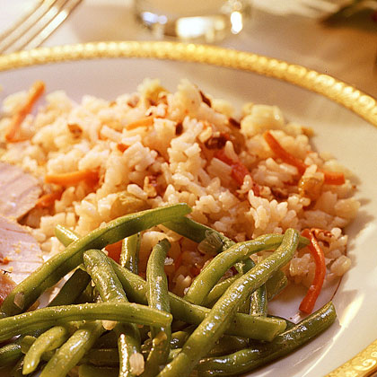 Rice Pilaf with Pecans