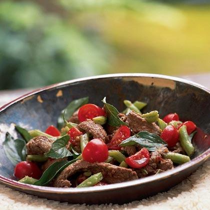 Drunken Stir-Fried Beef with Green Beans
