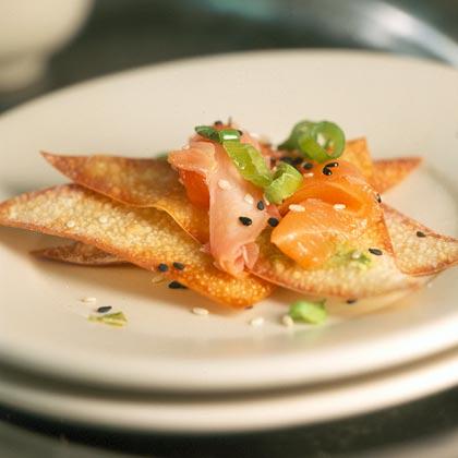 Salmon Carpaccio with Wasabi Recipe