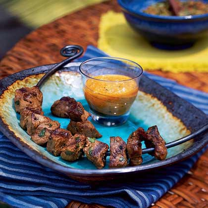 Anticuchos (Peruvian Beef Kebabs)