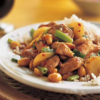 Sichuan-Style Stir-Fried Chicken With Peanuts Recipe