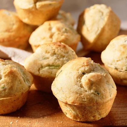 Zucchini-Lemon Muffins