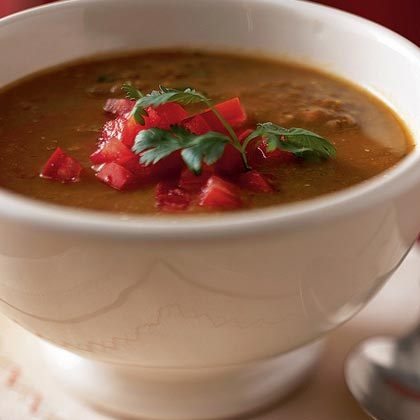 Bree's Lentil-Tomato Soup