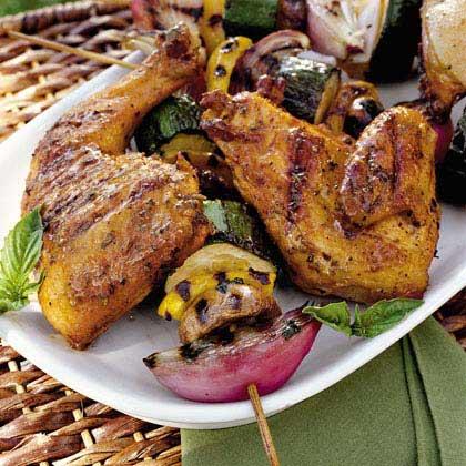 Marinated Chicken Quarters Recipe