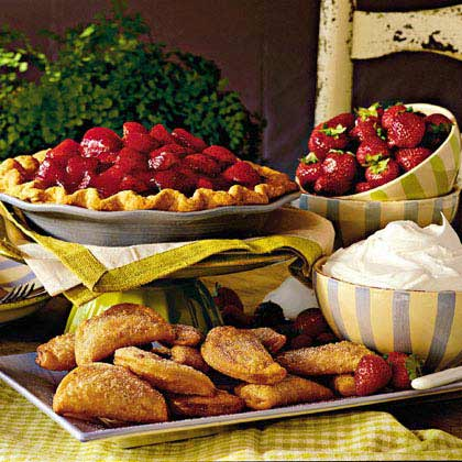 Fried Strawberry Pies