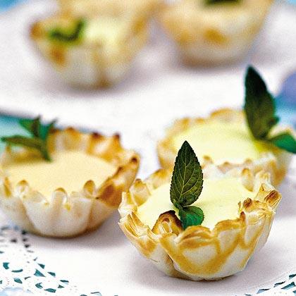Creamy Citrus Tartlets Recipe