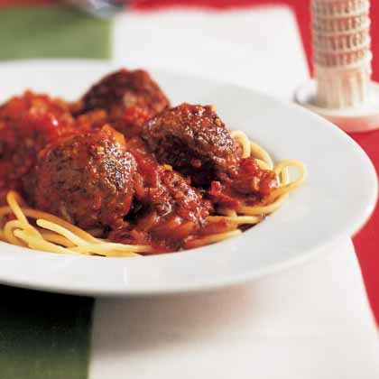 Spaghetti and MeatballsRecipe