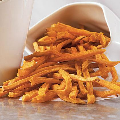 Sweet Potato Shoestring Fries