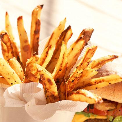 Oven Fries Recipe - 2 | MyRecipes