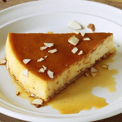 Almond Crème Caramel