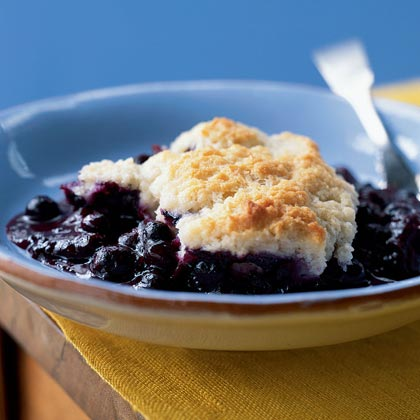 Blueberry CobblerRecipe
