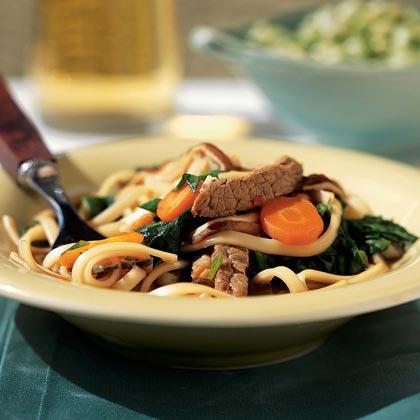 Udon-Beef Noodle Bowl