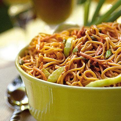 Peanut-Noodle Salad Recipe