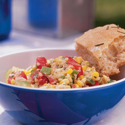 Millet Salad with Sweet Corn and Avocado Recipe