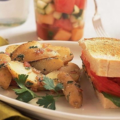 Fingerling Potato and Prosciutto Salad