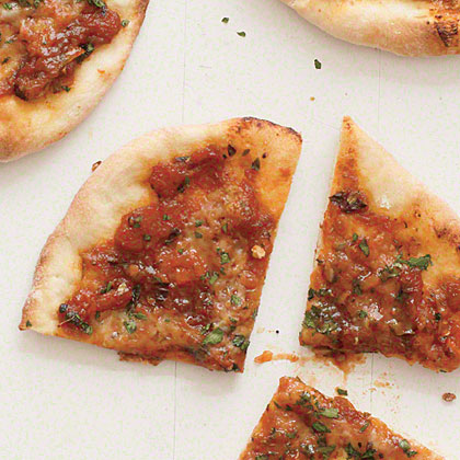 Herbed Cheese Pizzas