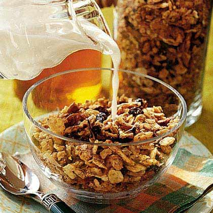 Pecan-Coconut Granola Recipe