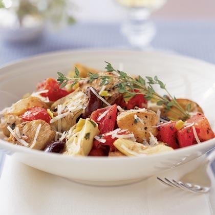 Mediterranean Chicken with Potatoes