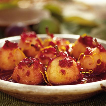 Pear-Cranberry Compote