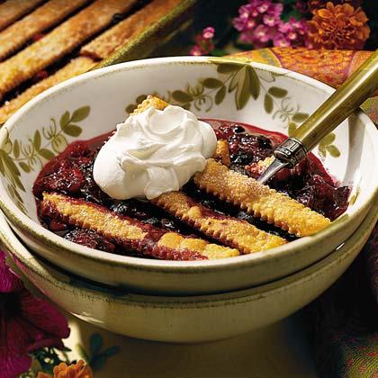 Mixed-Berry Cobbler